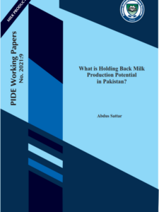 What is Holding Back Milk Production Potential in Pakistan?