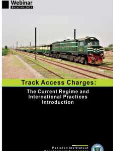 Track Access Charges: The Current Regime and International Practices Introduction