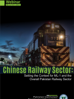 Chinese Railway Sector: Setting the Context for ML-1 and the Overall Pakistan Railway Sector